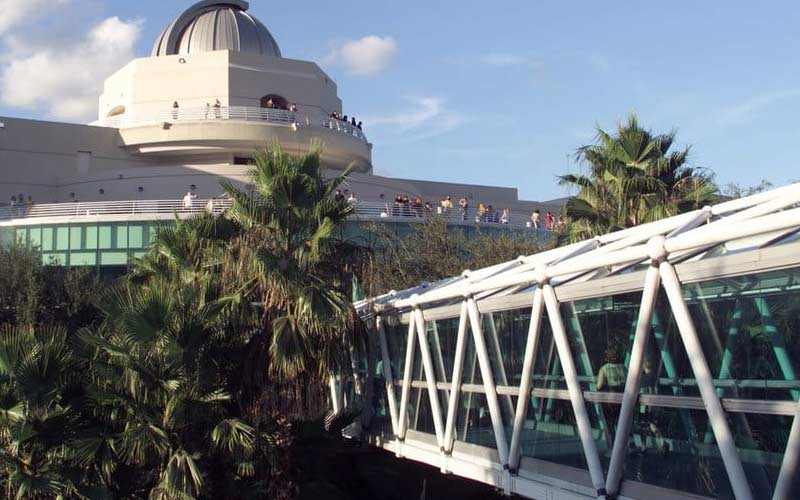 Forget about science fiction, paranormal events become science reality at the Orlando Science Center in Florida.