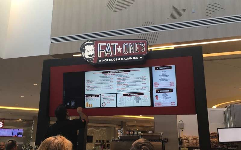 Stop by Fat One's in Orlando to grab a dog. Wonder what used to be here, that made it so haunted?