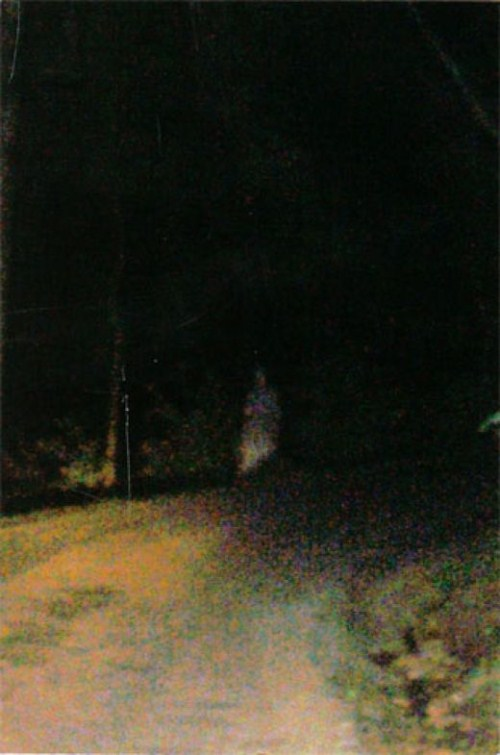 How far would you walk down a haunted road?