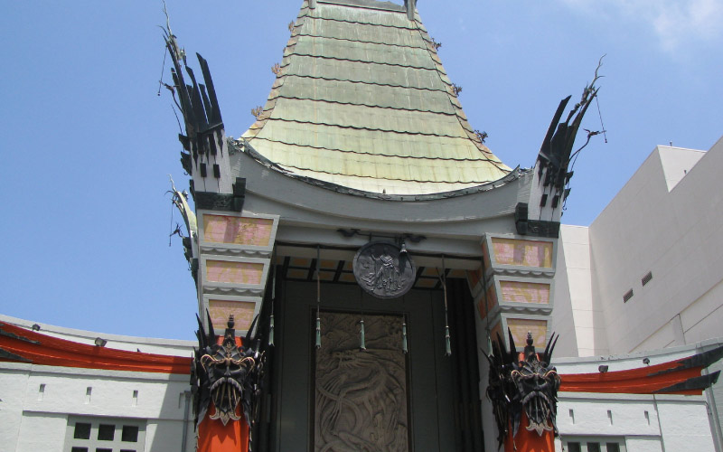 The TCL Chinese Theater in LA, California is a stop on our paranormal roadtrip across the state.