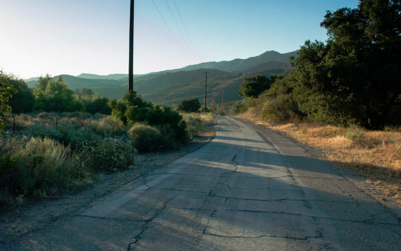 Black Star Canyon is one of the most haunted roads in all of Orange County, so obviously you need to drive down it at night.
