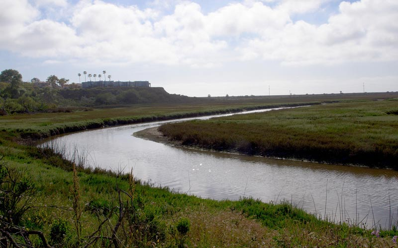 The San Elijo Lagoon in Encinitas is a fitting place to end up if you're looking to experience true paranormal events in California.