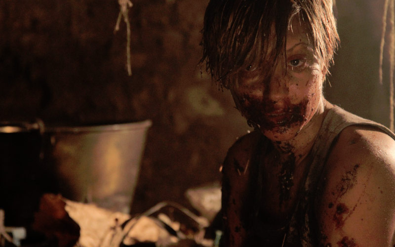Lovely Molly is a disturbing found footage movie.