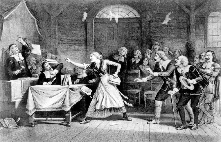 The possession of Elizabeth Knapp.