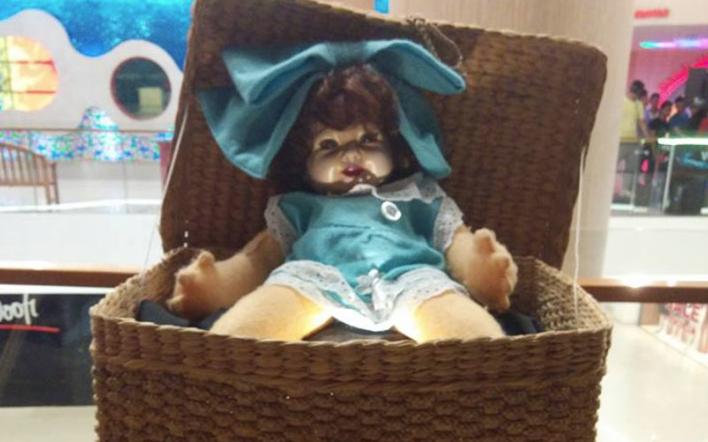 The haunted Italian doll has been on display, but you should avoid it at all costs.
