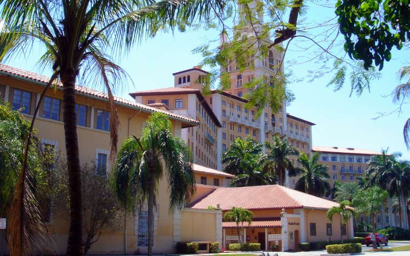 The Historic Biltmore Hotel in Miami is home to more than just fond memories, there are ghosts here.