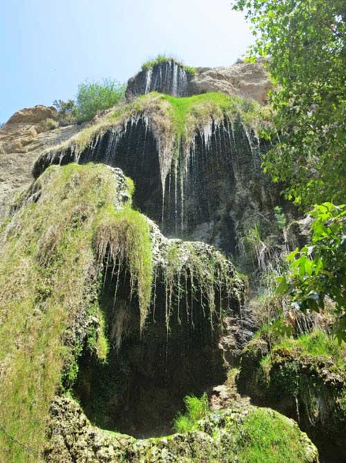 Escondido Falls in Malibu, California is a beautiful place, if you don't mind the evil spirits.