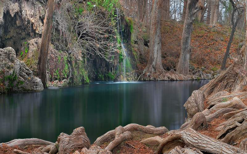 10 Haunted Waterfall Hikes in Texas That Will Make You Scream