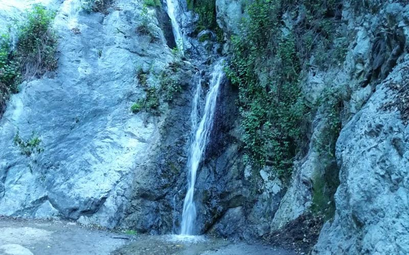 Someone might try to get under your skin at Monrovia Falls, CA.