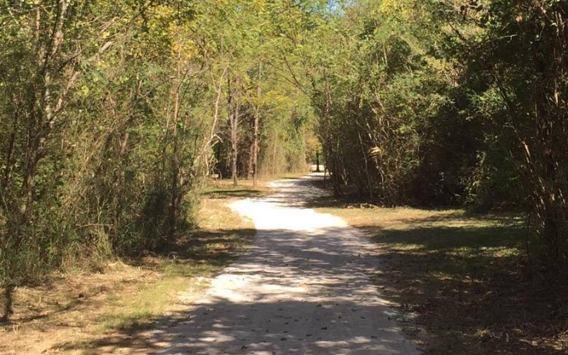 Buck Creek Trail is one of the most haunted bike trails, you can find it at Buck Creek RV Park in Abilene Texas.