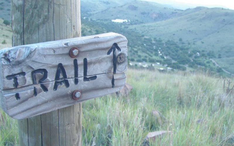 The Davis Mountains Trails in Fort Davis are no joke, so come prepared for anything.