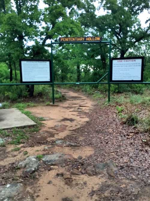 Lake Mineral Wells State Park in Mineral Wells, Texas is home to spirits of unthinkable evil.