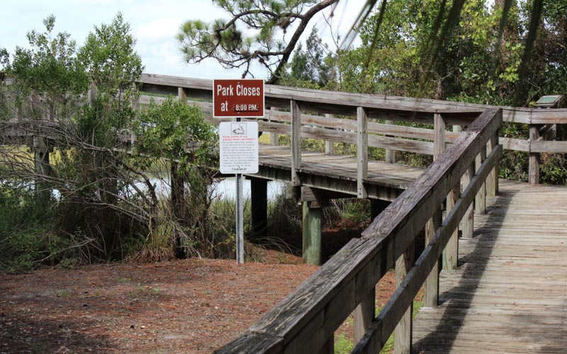 This Port Orange bike trail is well-regarded in the community, because the ghosts tend to leave the locals alone.