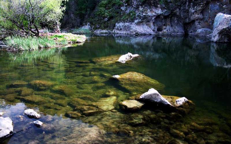 Rock Pool Swimming Hole in Calabasas, California