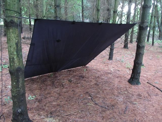 Lean To Tarp Shelter