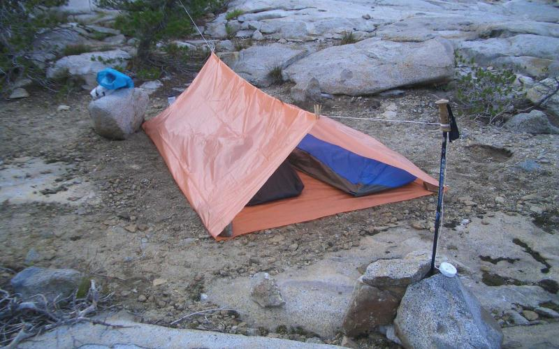 Tube Tent - Tarp C&ing 101 - An Easy Guide For The Minimalist & Tarp Camping 101 (An Easy Guide For The Minimalist)