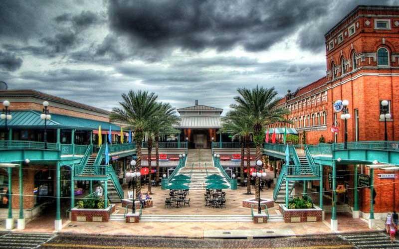 Ybor City in Tampa, Florida