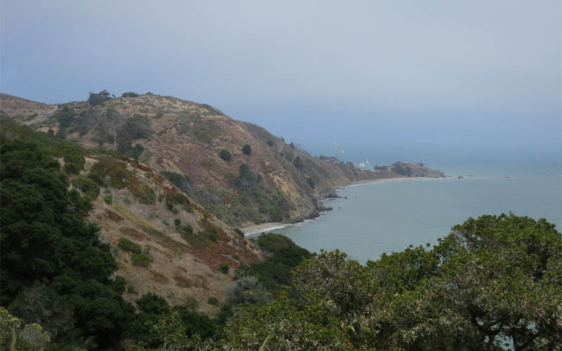 Angel Island in San Francisco, California