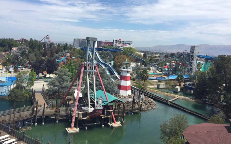 California's Great America in Santa Clara, California