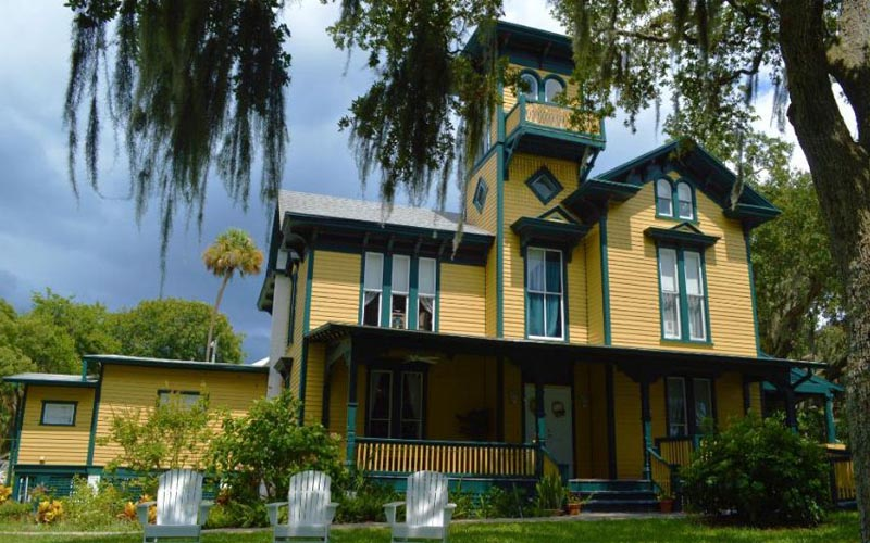 Lilian Place Historic House in Daytona Beach, Florida
