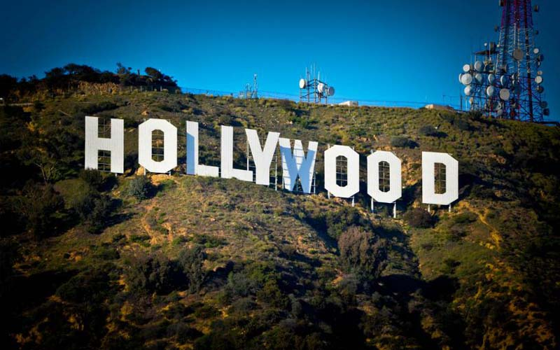 Hollywood Sign in West Hollywood, California