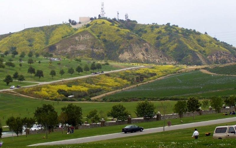 Rose Hills Memorial Park in Whittier, California