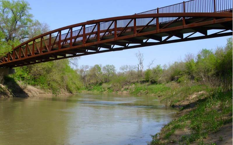 River Legacy Park in Arlington, Texas