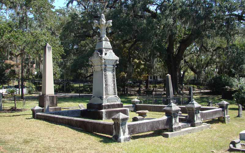 Tallahassee's Old City Cemetery in Florida