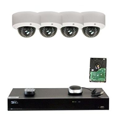 GW Security 8CH H.265 4K NVR 5-Megapixel