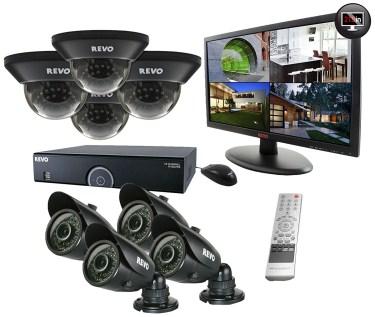 Revo R165B10GM21-4T 16 Ch. 4TB 960H DVR Surveillance System