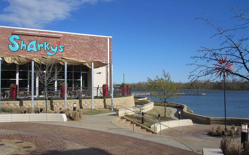 Sharky's Waterfront Grill in Kingwood, Texas