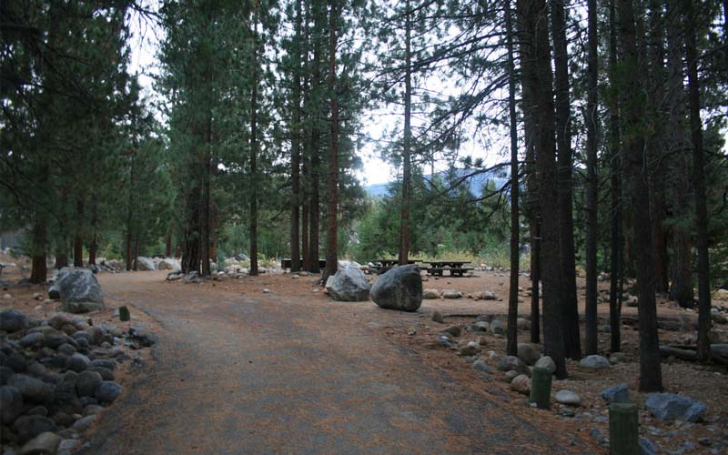 Mono Hot Springs Campground in Mono Hot Springs, California