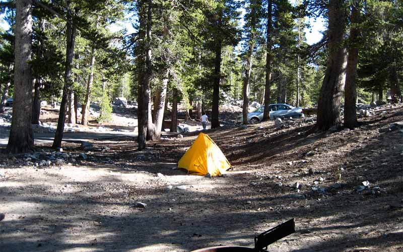Coldwater Campground in Mammoth Lakes, California