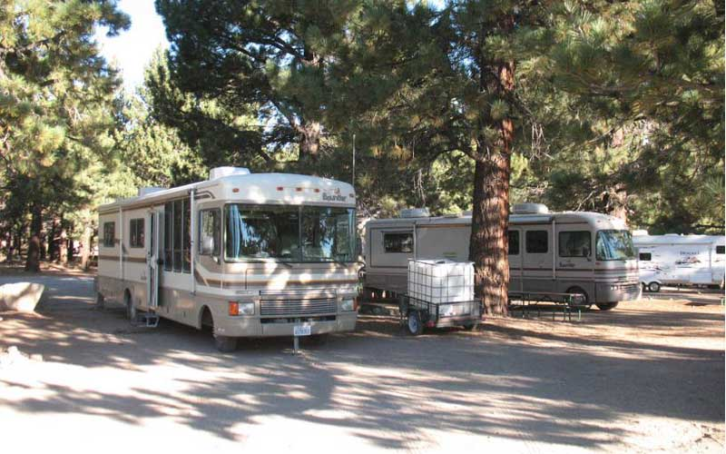 Mammoth Mountain RV Park in Mammoth Lakes, California