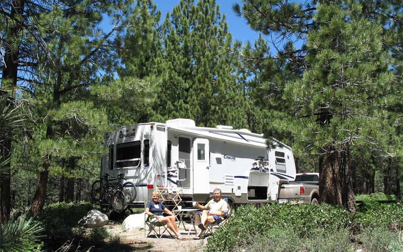 New- Shady- Rest- Campgrounds- Mammoth- Lakes- California