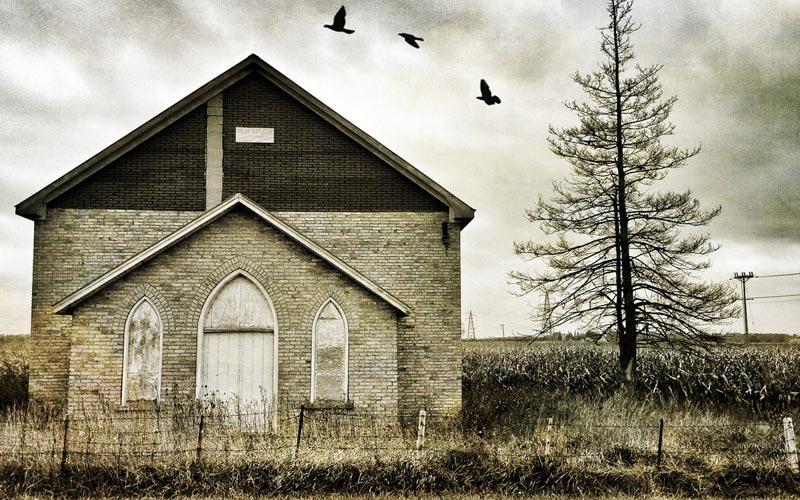 Evil That Lurks Outside This Gainesville Church In Florida