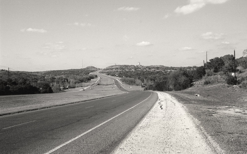 US 281 in Blanco Texas