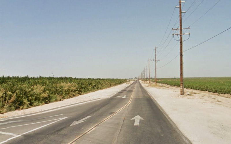 Browning Road in Delano, California