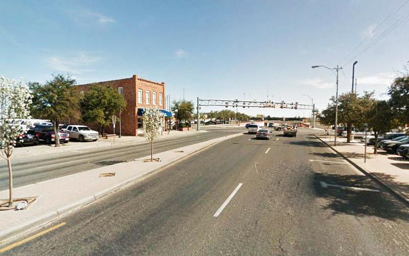 US 385 in Odessa, Texas