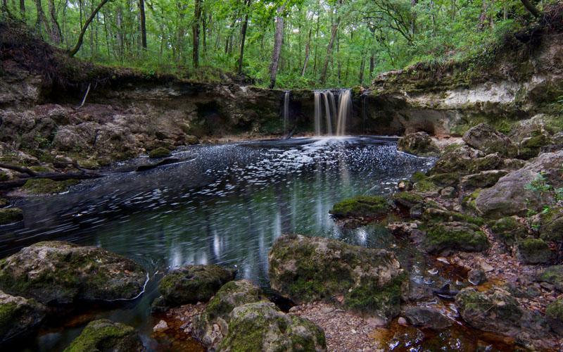 Falling Creek in Lake City, Florida