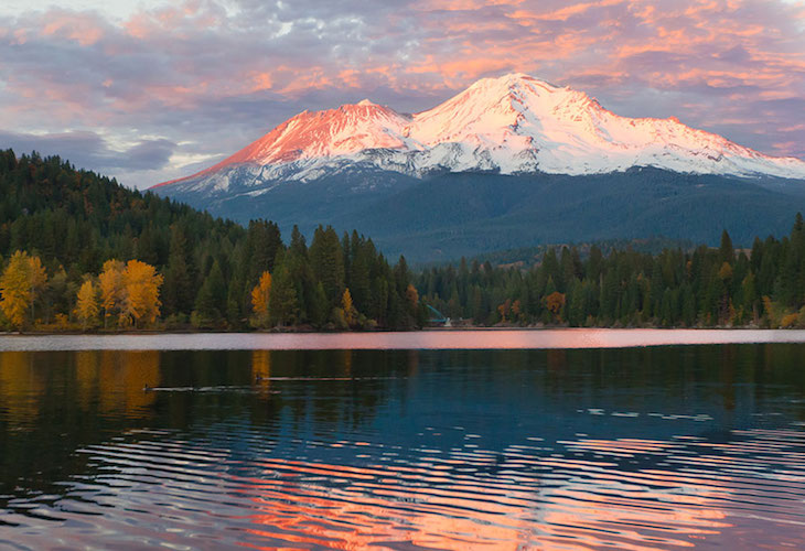 Rejuvenate your spirit with a trip to Mt Shasta.