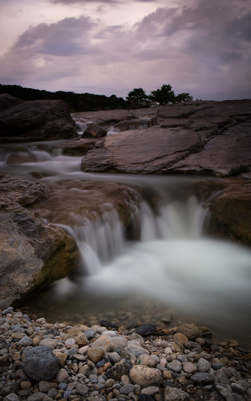 Pedernales Falls State Park in Johnson City, Texas