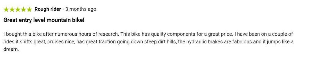 Diamondback Overdrive Sport User Reviews and Ratings 1