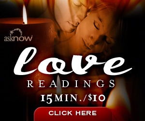 AskNow Love Questions 15mins for 10 dollars