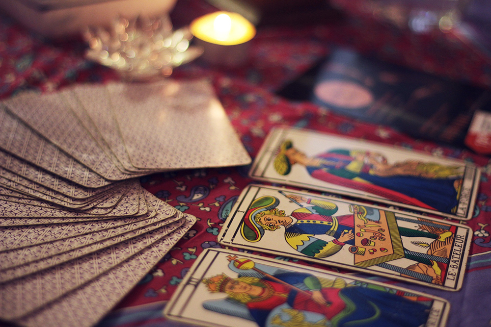 Let the universe speak to you through the cards.