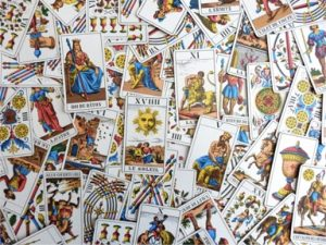 You can use Tarot cards to reveal answers from your subconcious.
