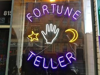 fake fortune teller