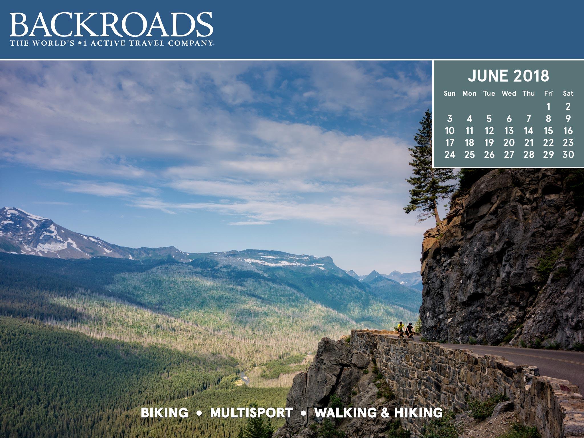 Active Travel Desktop Calendars