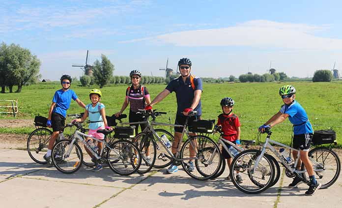 New Family Bike Tours - Younger Kids