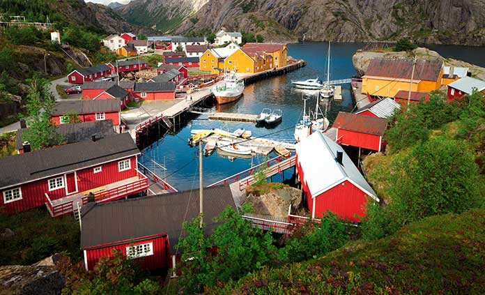 Norway's Lofoten Islands Walking & Hiking Tour